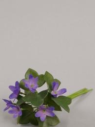 Цветок голубой анемон 12 см