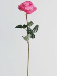 Роза розовая 70см