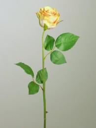 Роза розово-зеленая 52см