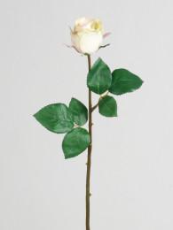 Роза кремовая 47см