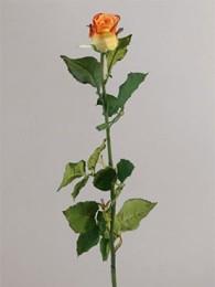 Роза оранжевая 62см