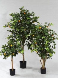 Дерево с мандаринами 110см