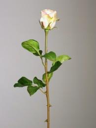 Роза розово-кремовая 50см