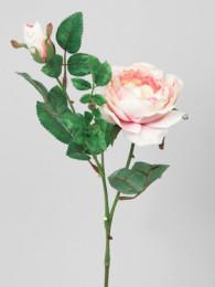 Роза розовая 40см